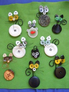 ınnovative and beautiful button crafts and projects (7)