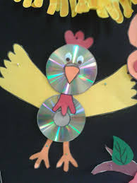 CD bird crafts (1)
