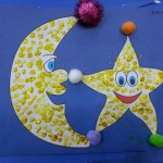 Day and night craft idea for preschoolers