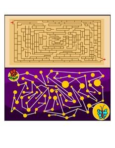 Kids Maze Printable  (1)