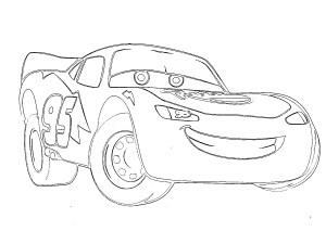 Lightning Mcqueen coloring  pages (1)