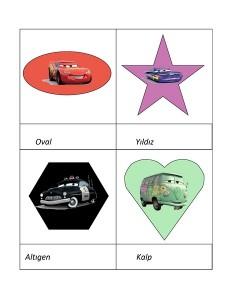 Lightning Mcqueen shapes activities (2)