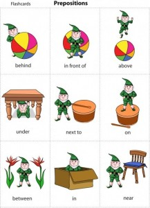 Prepositions (1)