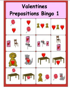 Prepositions bingo cards for kıds (4)