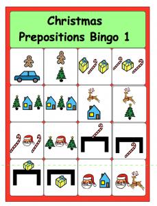 Prepositions bingo cards for kıds (5)