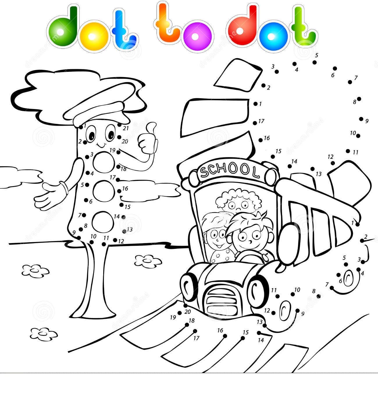 traffic light dot to dot  1   u00ab funnycrafts