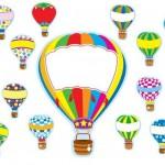 Air balloon printables