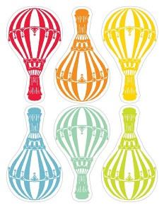 air balloon matching for kıds