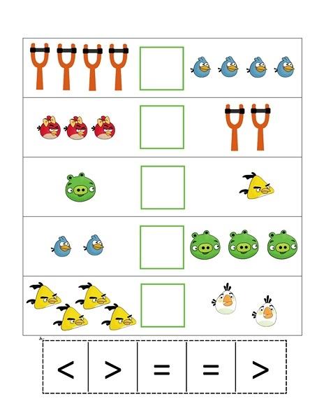 angry birds math