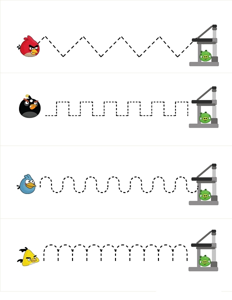angry birds pre writing activities (1)