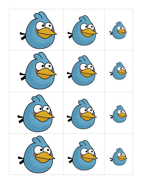angry birds size activity