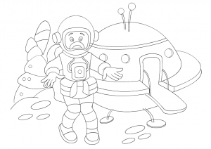 astronaut coloring pages for preschoolers (1)