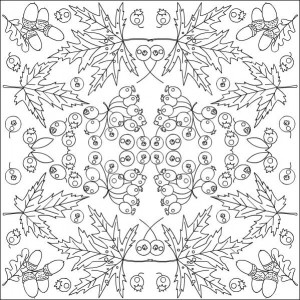 autumn coloring pages in classroom (12)
