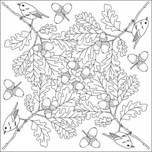autumn coloring pages in classroom (5)