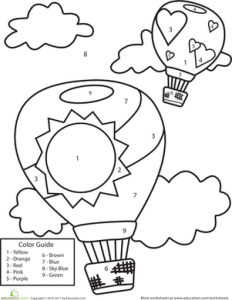 balloon color by number pages (2)