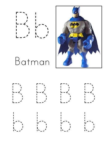 batman B is for Preschool and