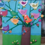 Spring bird crafts preschool