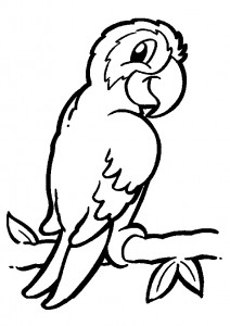 bird themed coloring pages (10)