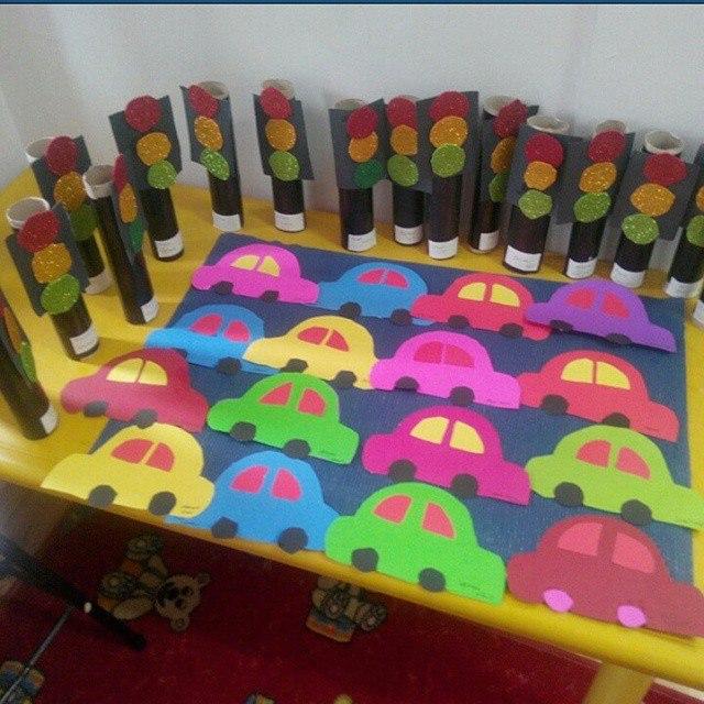 Car Craft For Kids Part - 38: Vehicles Craft For Kindergarten