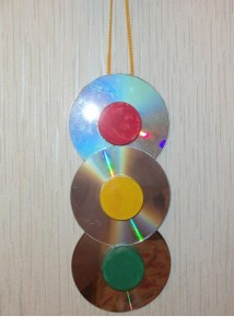 cd traffic lights craft