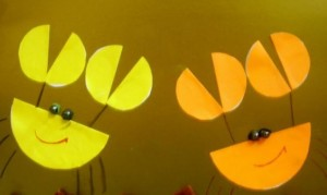 circle paper crafts for children (4)