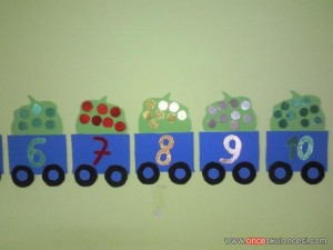 classroom wall number activities for preschool (6)