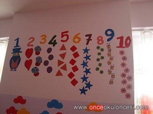 classroom wall number activities for preschool (7)