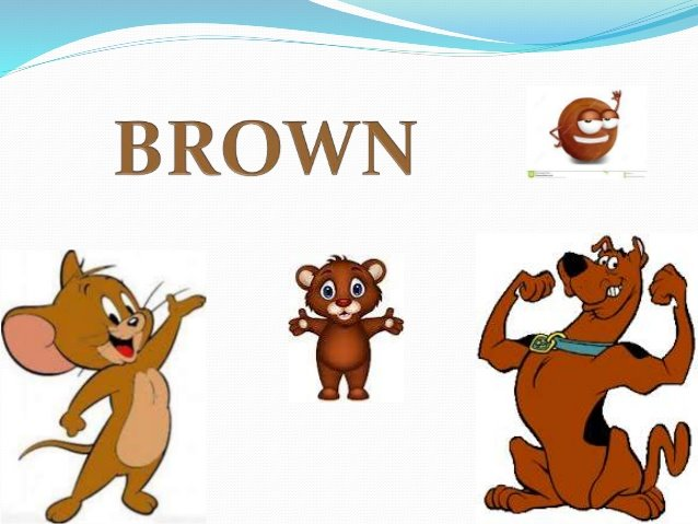 colors brown for kıds