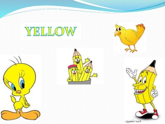 colors yellow for kıds