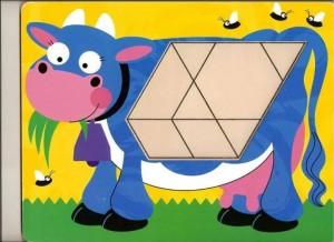 cow theme pattern block templates