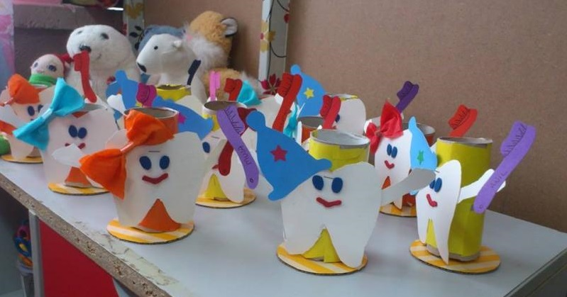 crafts and activities for kid s dental health month 1 Preschool and Homeschool