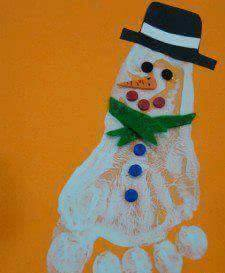 creative handprint and footprint crafts for kids (2)
