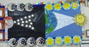 day and night bulletin board ideas (4)