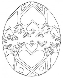 easter egg coloring pages for  kıds (5)