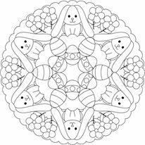 easter mandala worksheets (11)