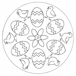 easter mandala worksheets (5)