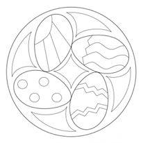 easter mandala worksheets (9)