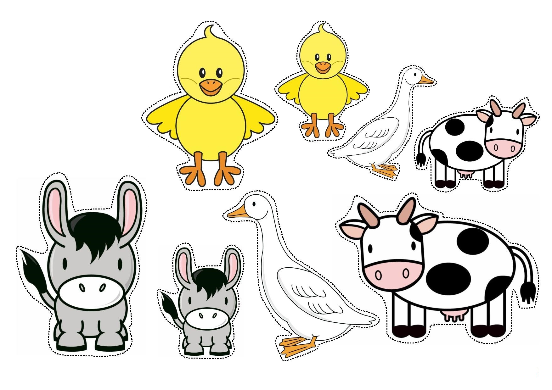 sorting by size worksheets farm animals sorting by size worksheets for preschool - Animals Worksheets For Preschool