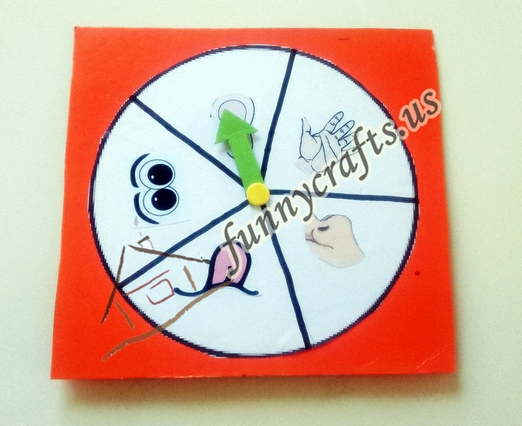 Photo of Five Senses Wheel