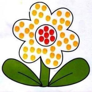 flower finger painting templates (1)