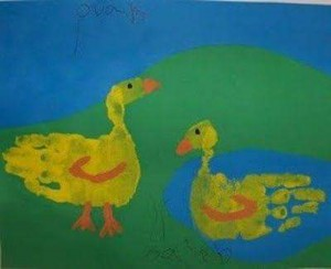 footprint crafts archives for preschool (5)