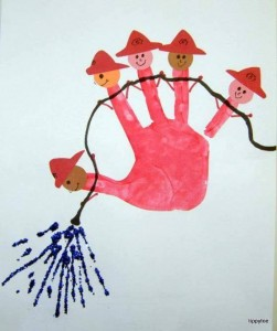fun handprint craft activities (7)
