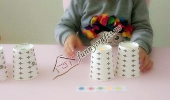 fun math games with paper cups (1)
