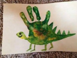 handprint animal crafts for kids (8)