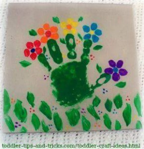handprint flower crafts (6)