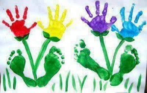 handprint flower crafts (7)