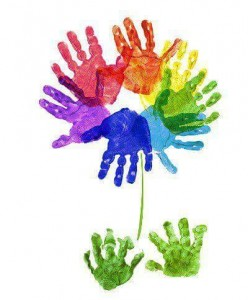 handprint flower crafts (9)
