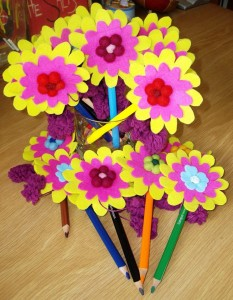 how to decorate pencils  (4)