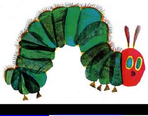 hungry caterpillar book printables