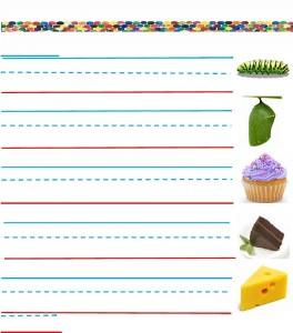 hungry caterpillar pre writing activities (2)